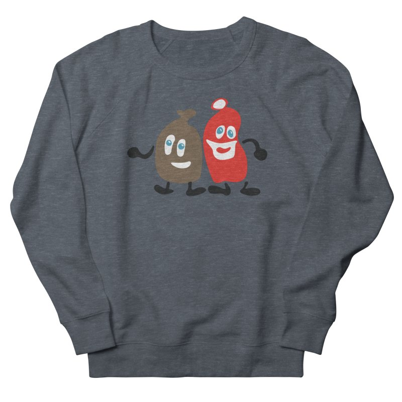 Xmas Buddies Men's Sweatshirt by Dicker Dandy