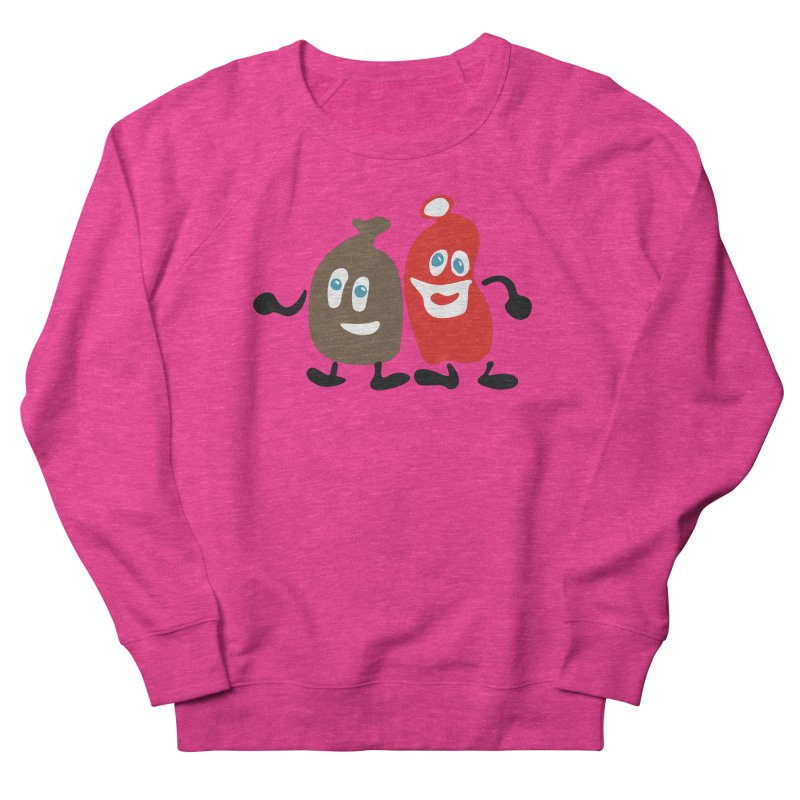 Xmas Buddies Men's French Terry Sweatshirt by Dicker Dandy