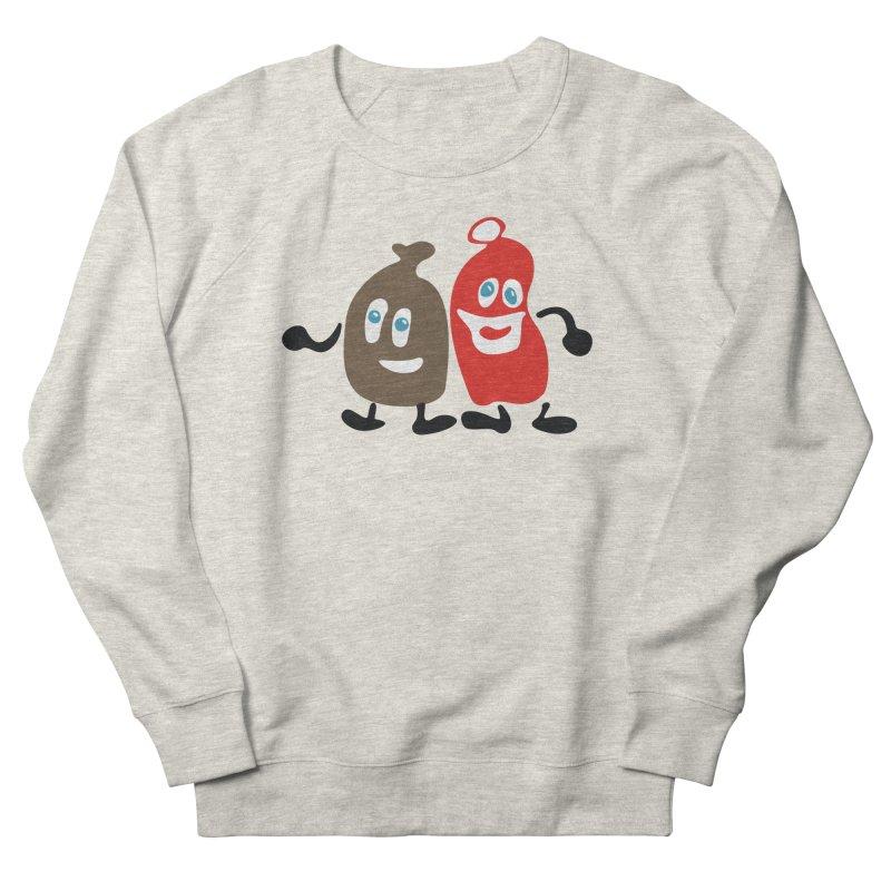 Xmas Buddies Men's French Terry Sweatshirt by Dicker Dandy