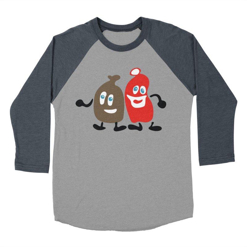 Xmas Buddies Women's Baseball Triblend Longsleeve T-Shirt by Dicker Dandy