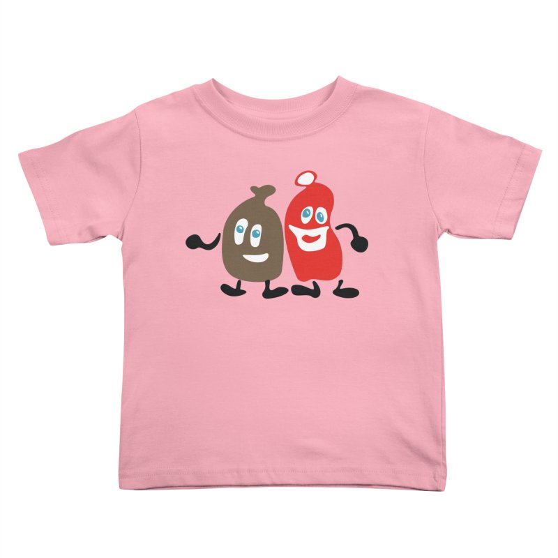 Xmas Buddies Kids Toddler T-Shirt by Dicker Dandy