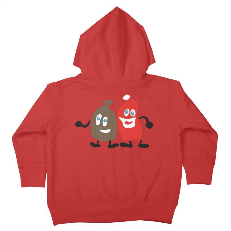 Xmas Buddies Kids Toddler Zip-Up Hoody by Dicker Dandy