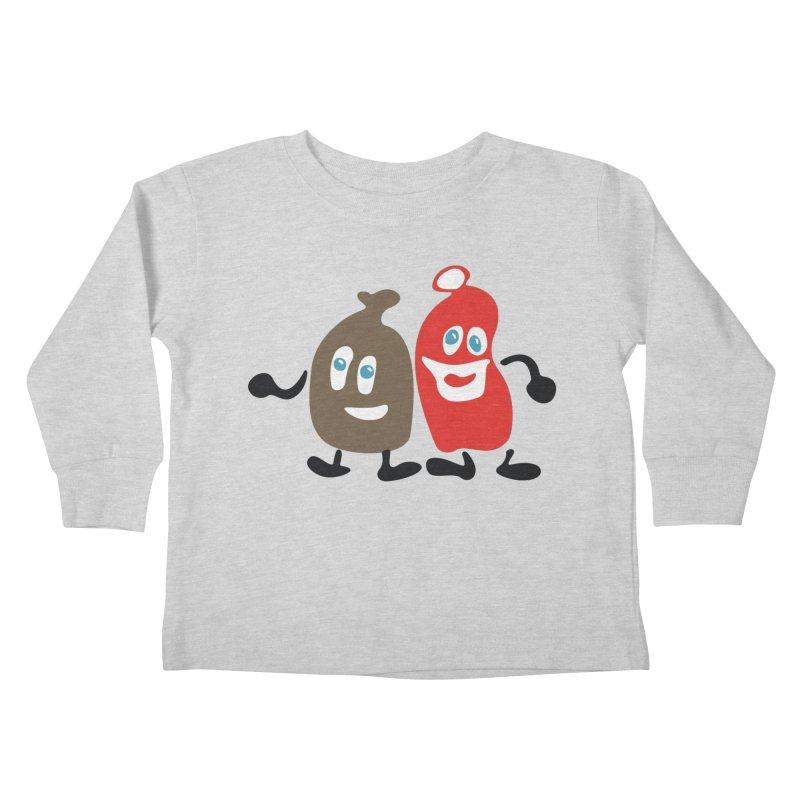 Xmas Buddies Kids Toddler Longsleeve T-Shirt by Dicker Dandy