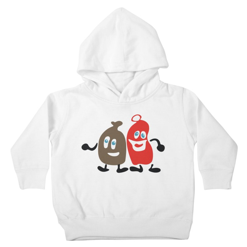Xmas Buddies Kids Toddler Pullover Hoody by Dicker Dandy
