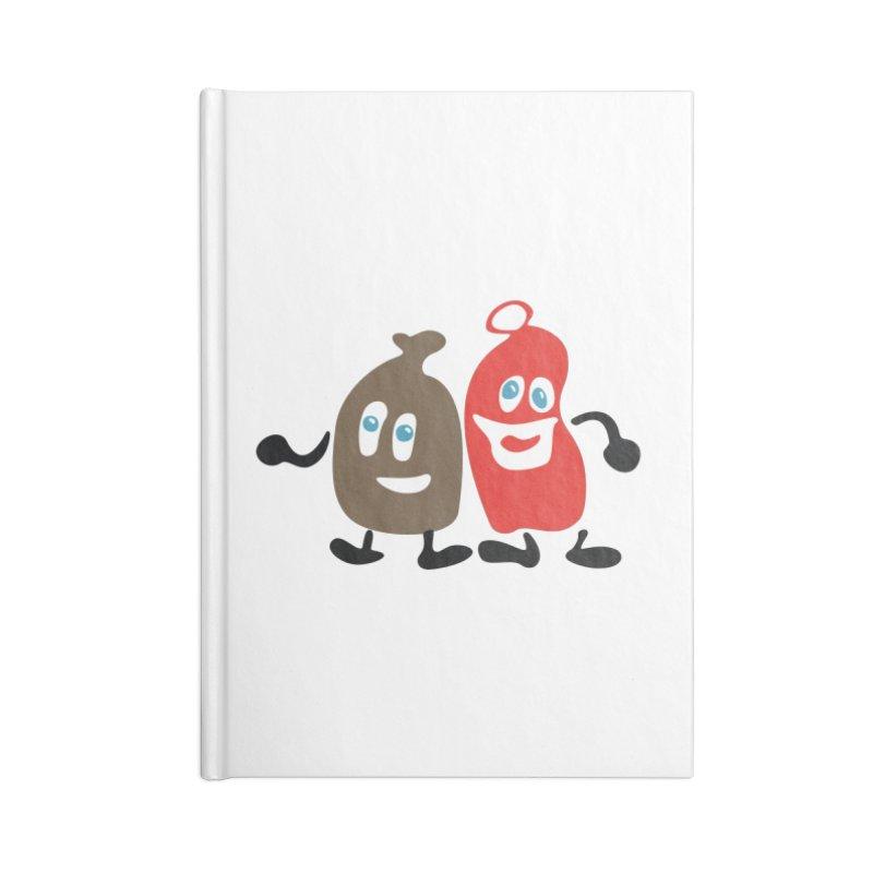 Xmas Buddies Accessories Notebook by Dicker Dandy