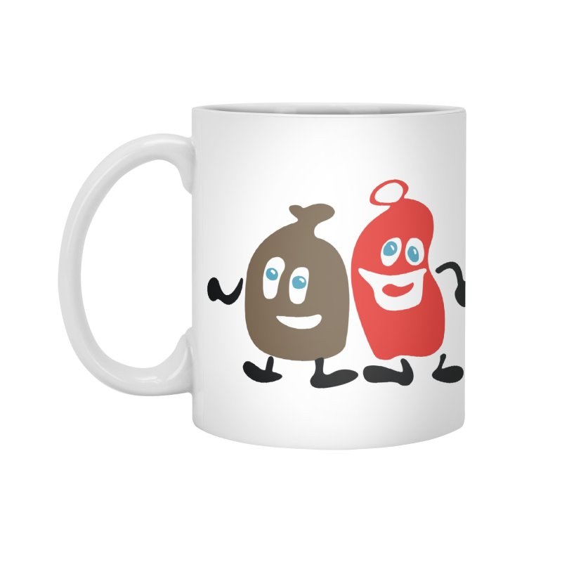 Xmas Buddies Accessories Mug by Dicker Dandy