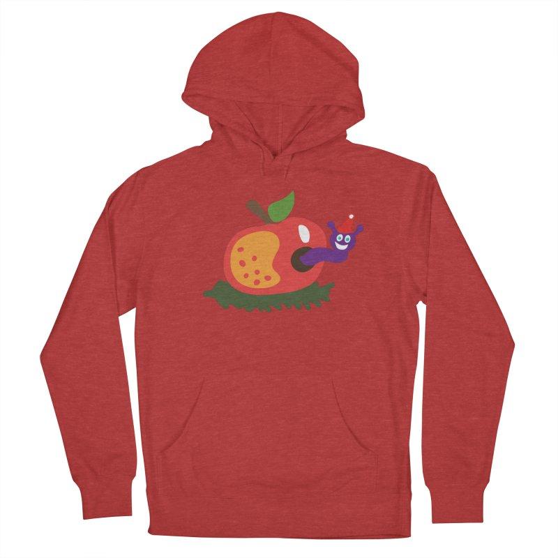 Apple Worm Women's Pullover Hoody by Dicker Dandy