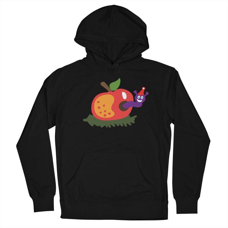 Apple Worm Men's Pullover Hoody by Dicker Dandy