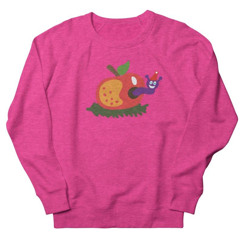 Apple Worm Women's Sweatshirt by Dicker Dandy