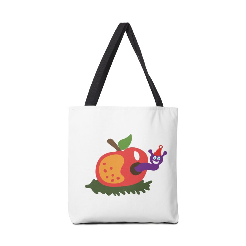 Apple Worm Accessories Bag by Dicker Dandy