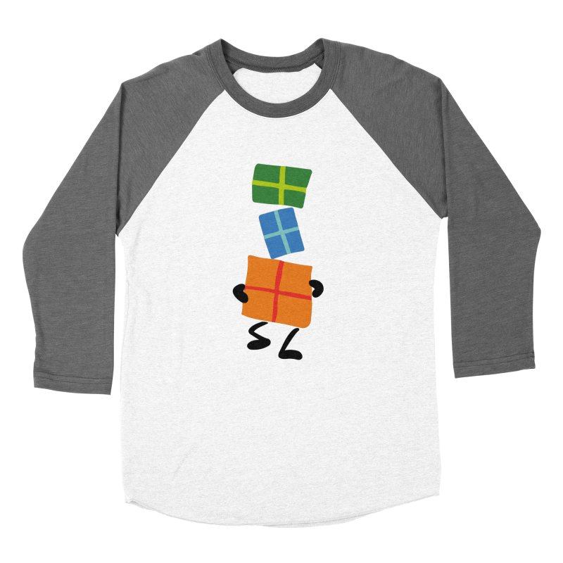 Gifts Women's Baseball Triblend Longsleeve T-Shirt by Dicker Dandy