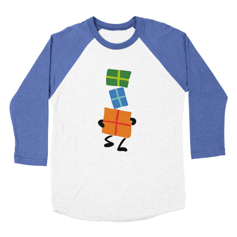Gifts Men's Baseball Triblend Longsleeve T-Shirt by Dicker Dandy