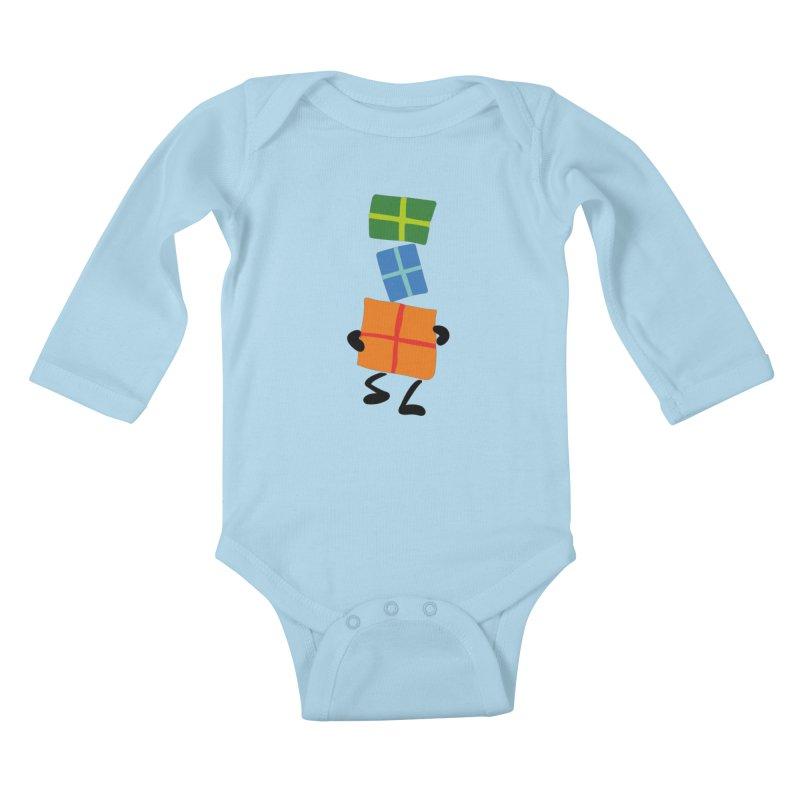 Gifts Kids Baby Longsleeve Bodysuit by Dicker Dandy