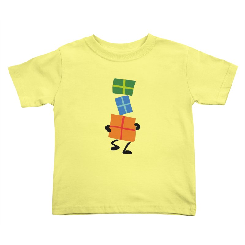 Gifts Kids Toddler T-Shirt by Dicker Dandy