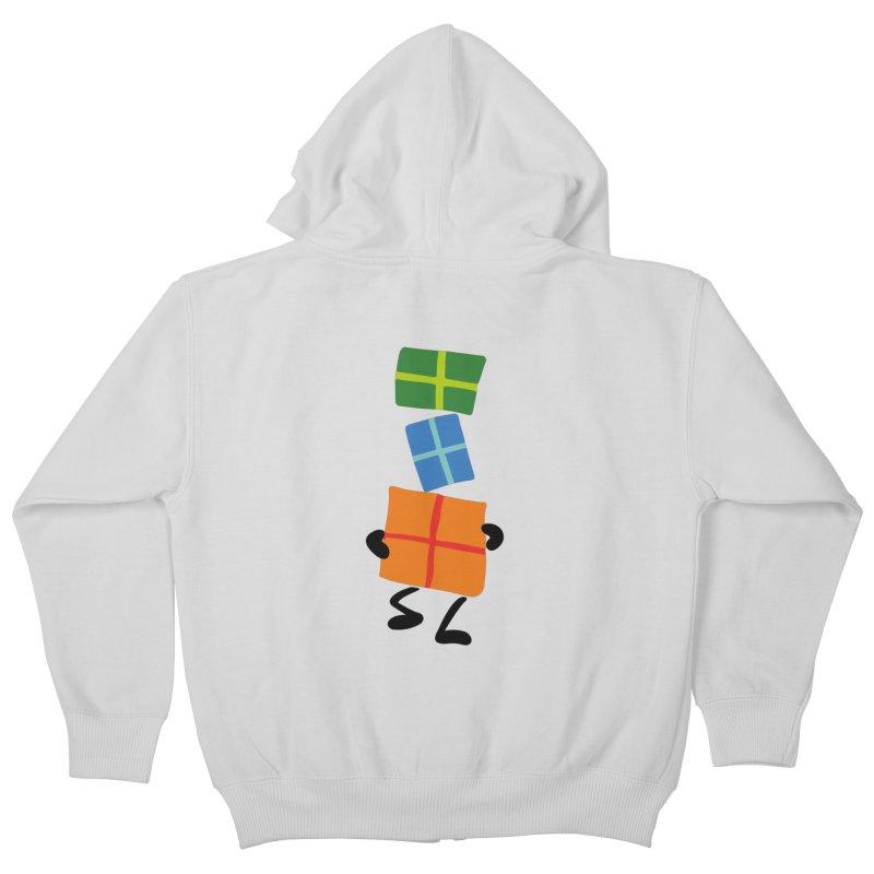 Gifts Kids Zip-Up Hoody by Dicker Dandy