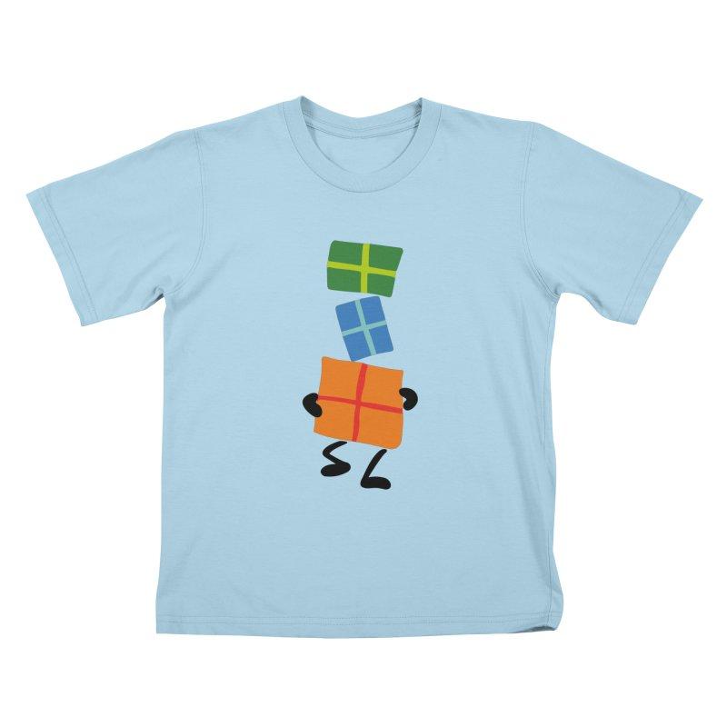 Gifts Kids T-Shirt by Dicker Dandy