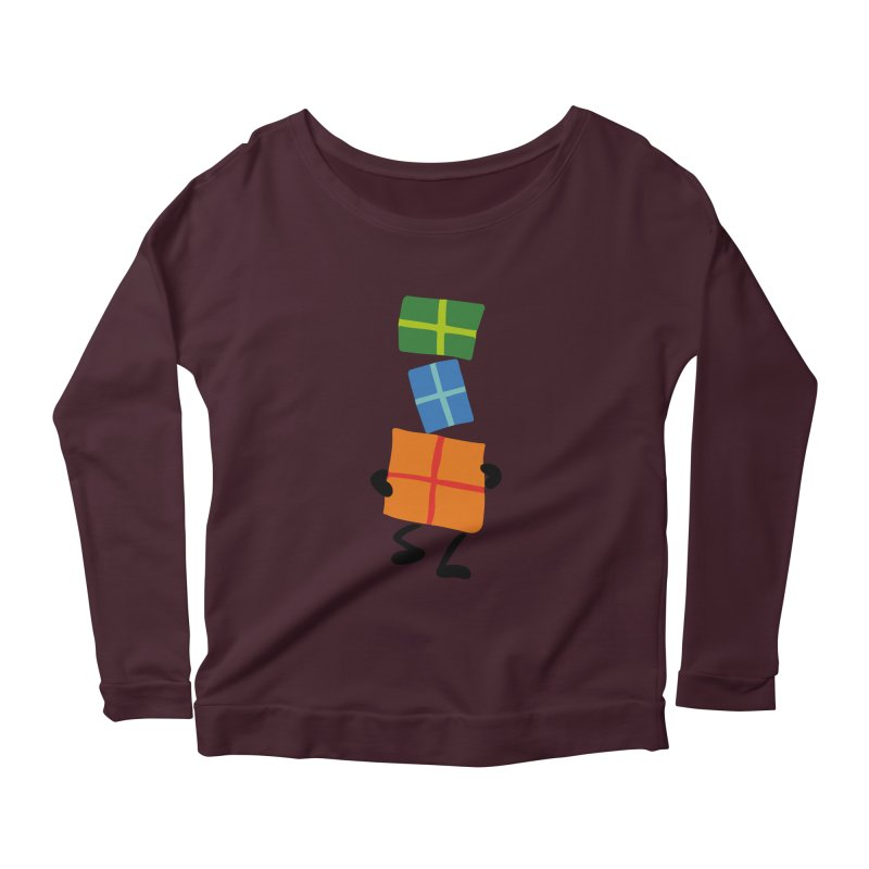 Gifts Women's Scoop Neck Longsleeve T-Shirt by Dicker Dandy