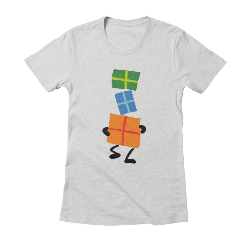 Gifts Women's Fitted T-Shirt by Dicker Dandy