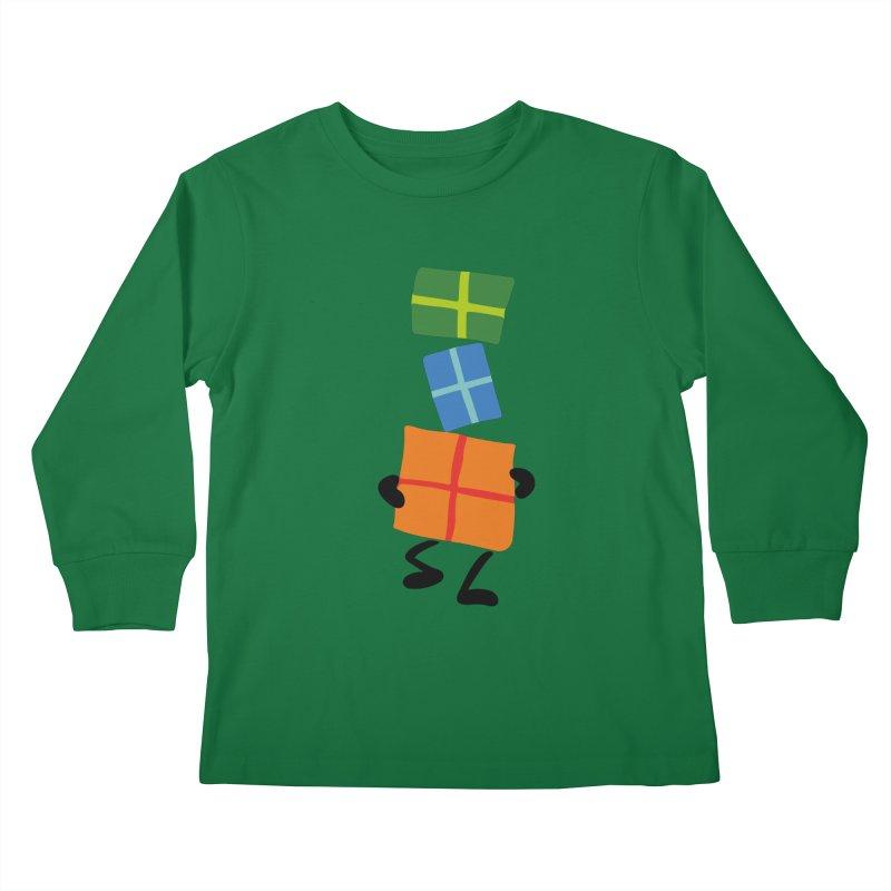 Gifts Kids Longsleeve T-Shirt by Dicker Dandy