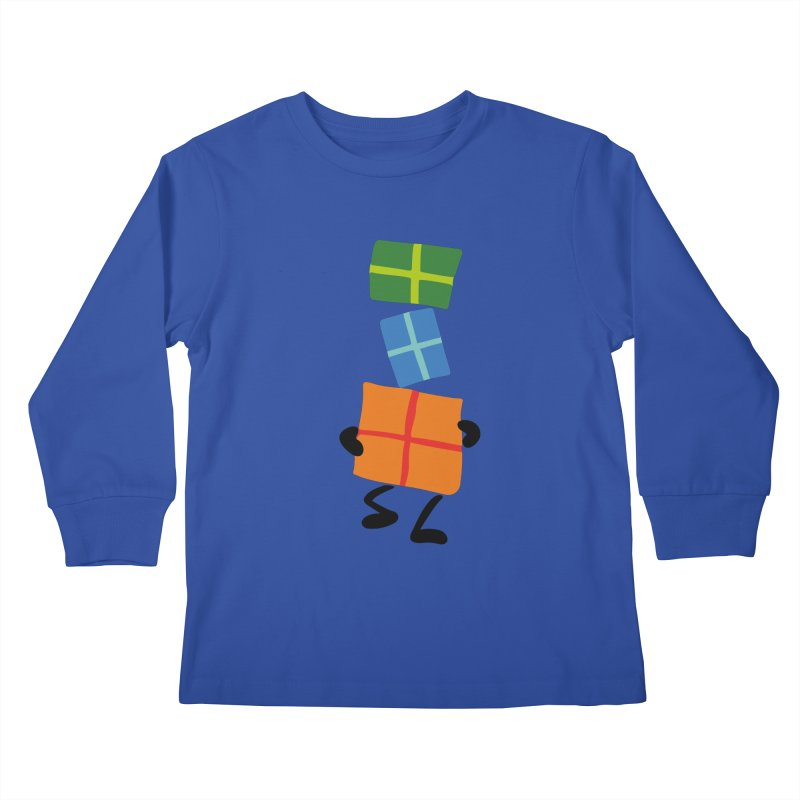 Gifts Kids Longsleeve T-Shirt by Dicker Dandy