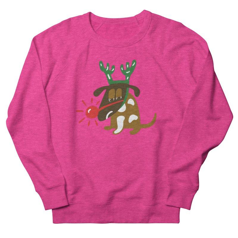 Xmas Dog Men's Sweatshirt by Dicker Dandy