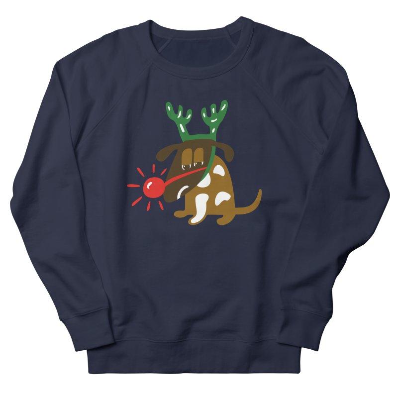 Xmas Dog Women's Sweatshirt by Dicker Dandy