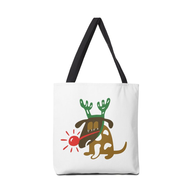 Xmas Dog Accessories Bag by Dicker Dandy