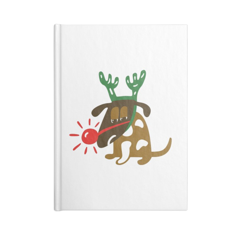 Xmas Dog Accessories Notebook by Dicker Dandy
