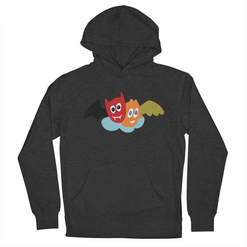 Devil & Angel Men's Pullover Hoody by Dicker Dandy