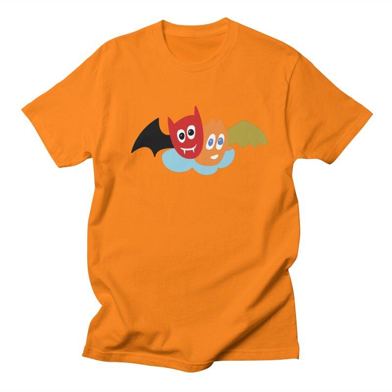 Devil & Angel Women's Unisex T-Shirt by Dicker Dandy