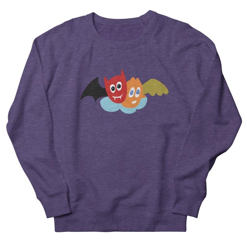 Devil & Angel Men's Sweatshirt by Dicker Dandy
