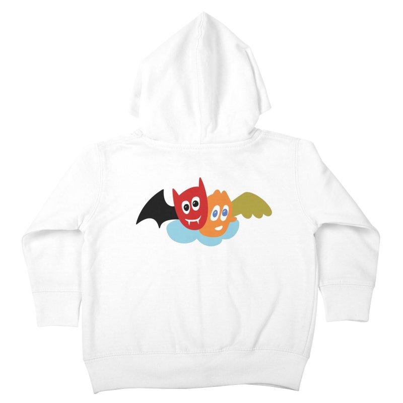 Devil & Angel Kids Toddler Zip-Up Hoody by Dicker Dandy