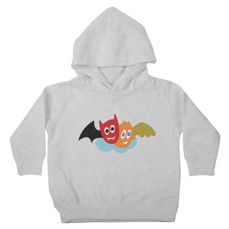 Devil & Angel Kids Toddler Pullover Hoody by Dicker Dandy