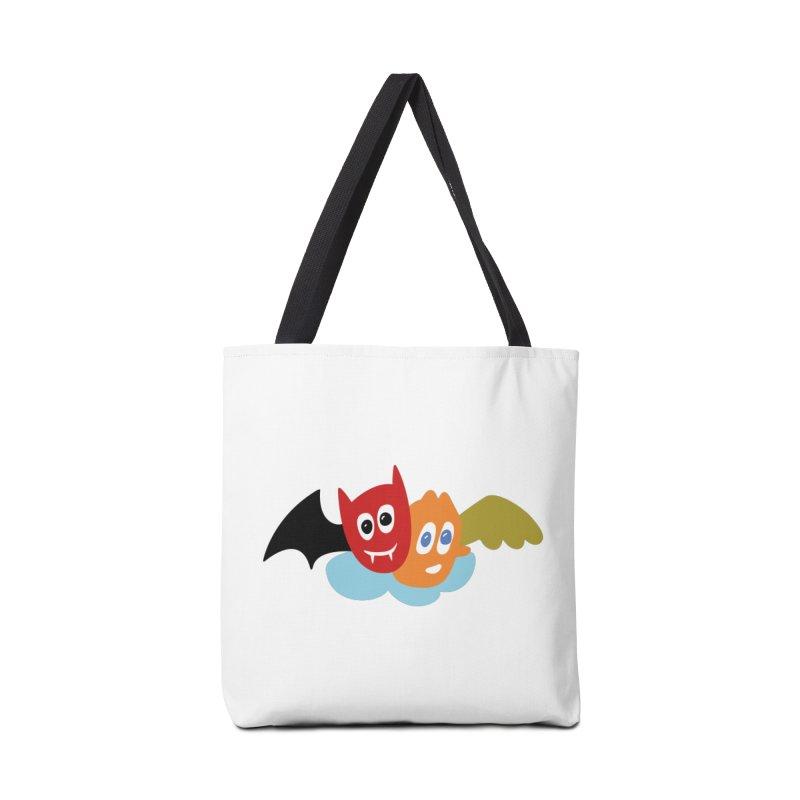 Devil & Angel Accessories Bag by Dicker Dandy