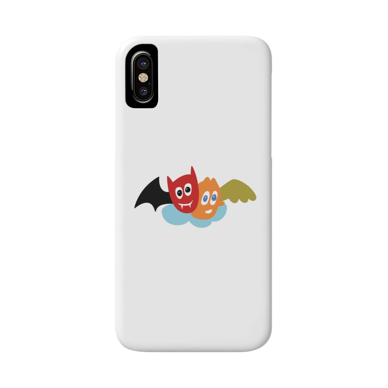 Devil & Angel Accessories Phone Case by Dicker Dandy