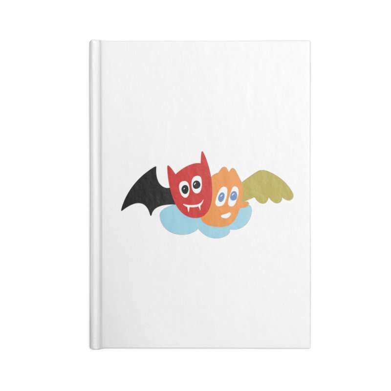 Devil & Angel Accessories Notebook by Dicker Dandy