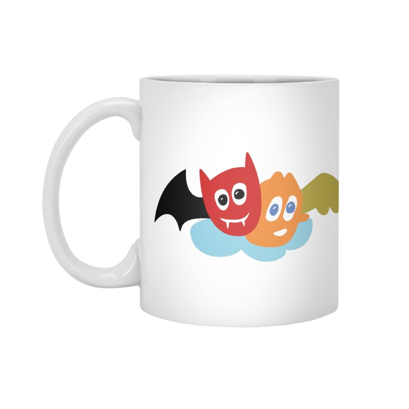 Devil & Angel Accessories Mug by Dicker Dandy