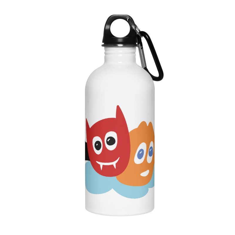 Devil & Angel Accessories Water Bottle by Dicker Dandy