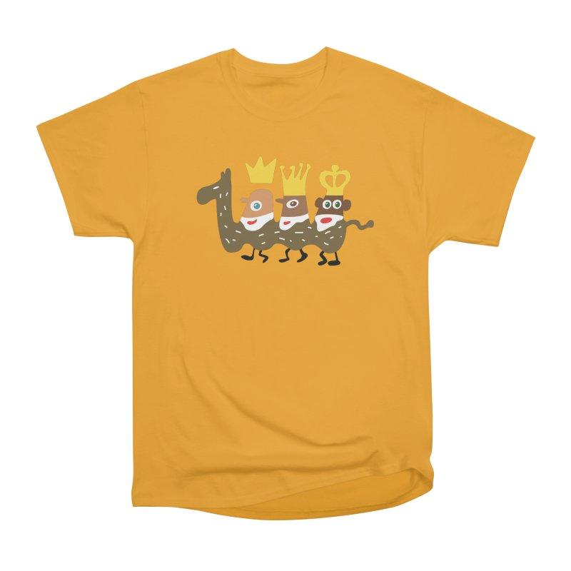 Holy Kings Men's Heavyweight T-Shirt by Dicker Dandy