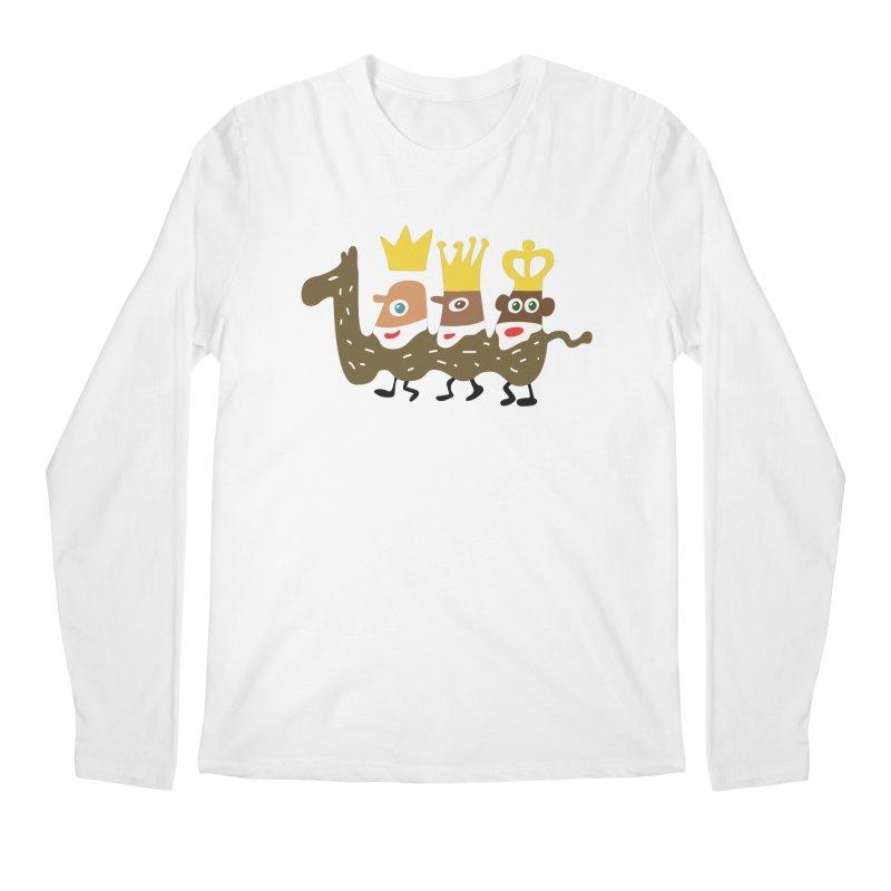 Holy Kings Men's Regular Longsleeve T-Shirt by Dicker Dandy