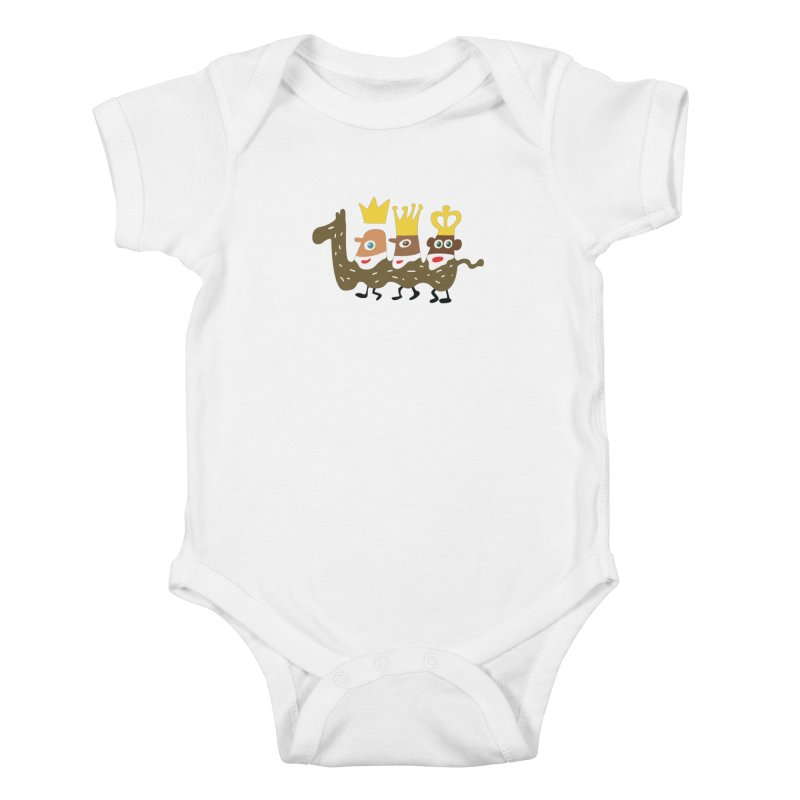 Holy Kings Kids Baby Bodysuit by Dicker Dandy