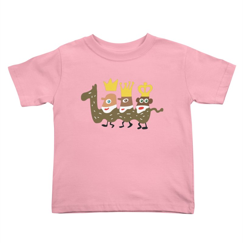 Holy Kings Kids Toddler T-Shirt by Dicker Dandy