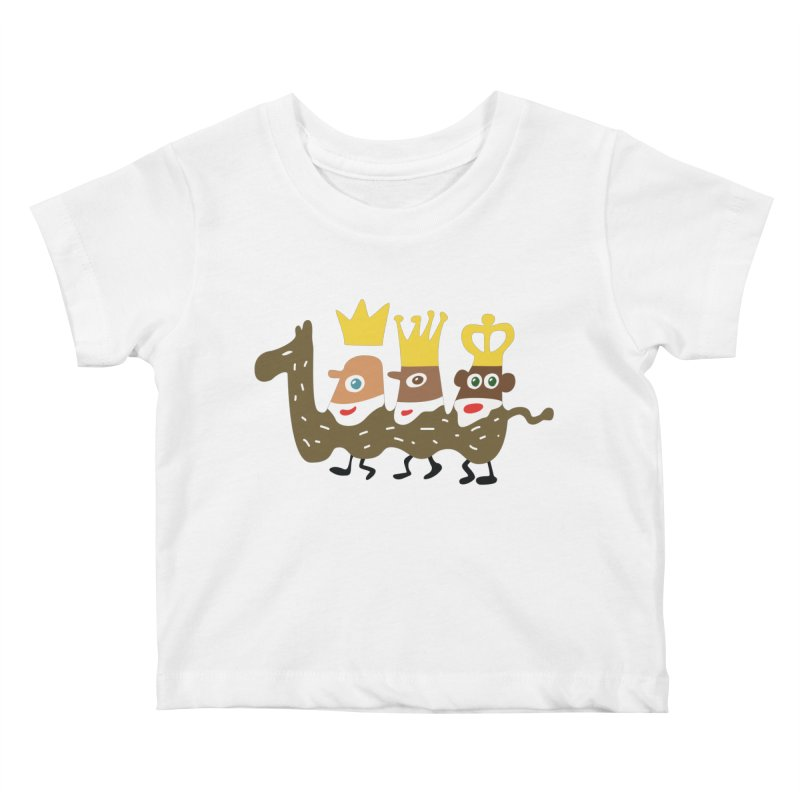 Holy Kings Kids Baby T-Shirt by Dicker Dandy