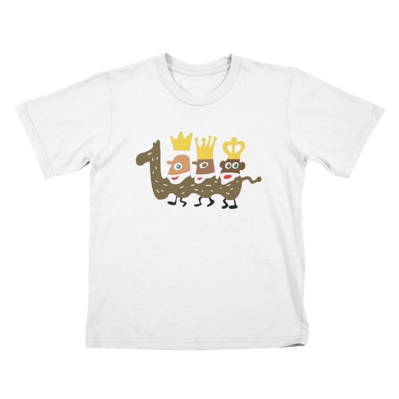 Holy Kings Kids T-Shirt by Dicker Dandy