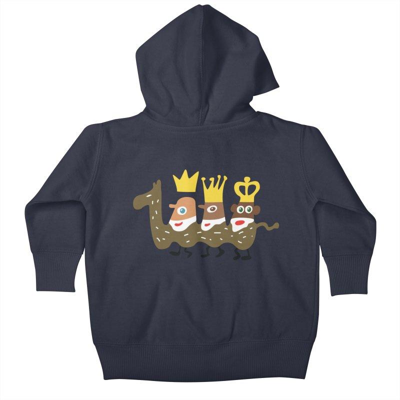Holy Kings Kids Baby Zip-Up Hoody by Dicker Dandy