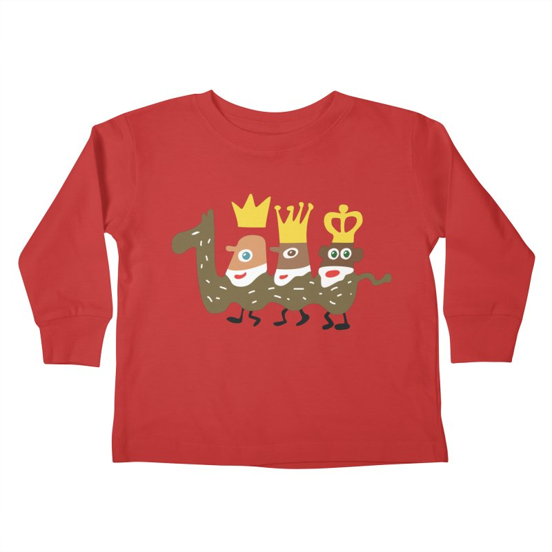 Holy Kings Kids Toddler Longsleeve T-Shirt by Dicker Dandy