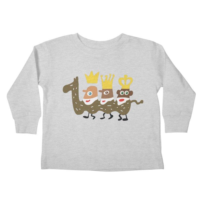 Holy Kings Kids Toddler Longsleeve T-Shirt by Dicker Dandy