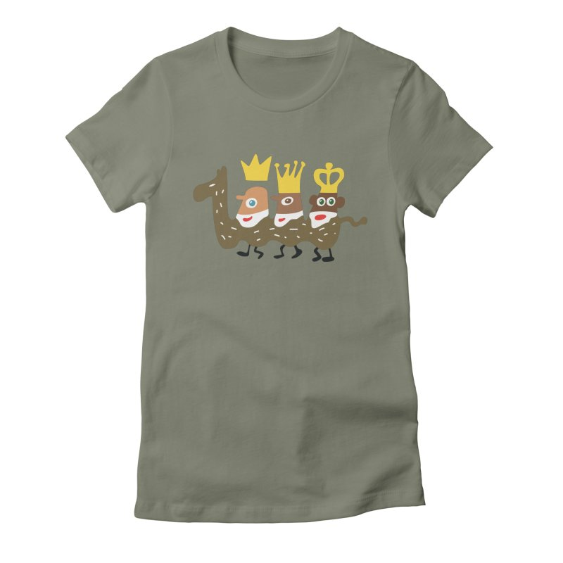 Holy Kings Women's Fitted T-Shirt by Dicker Dandy