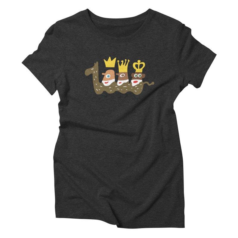 Holy Kings Women's Triblend T-Shirt by Dicker Dandy
