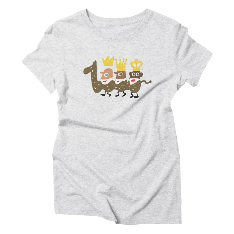 Holy Kings Women's Triblend T-Shirt by Dicker Dandy